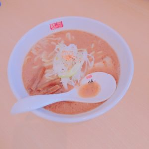 麺屋傑心(けしん)海老ラーメン