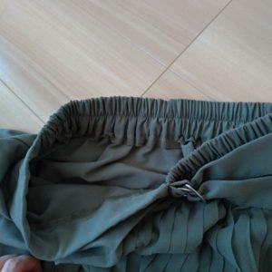 GU コンビネーションプリーツスカート