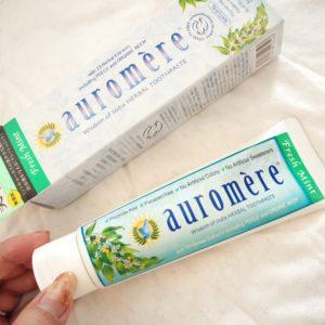 オーロメア 歯磨き粉